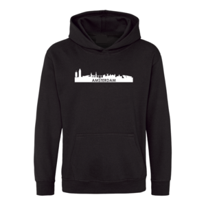 Hooded sweater Skyline Amsterdam