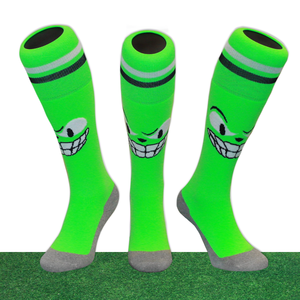 Hockeysokken Monsters Groen